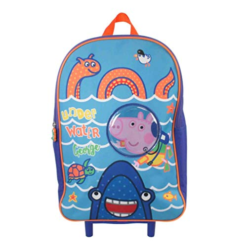 Peppa Pig George 40cm Trolley Bag