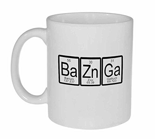 Bazinga - Taza de café o té con tabla periódica