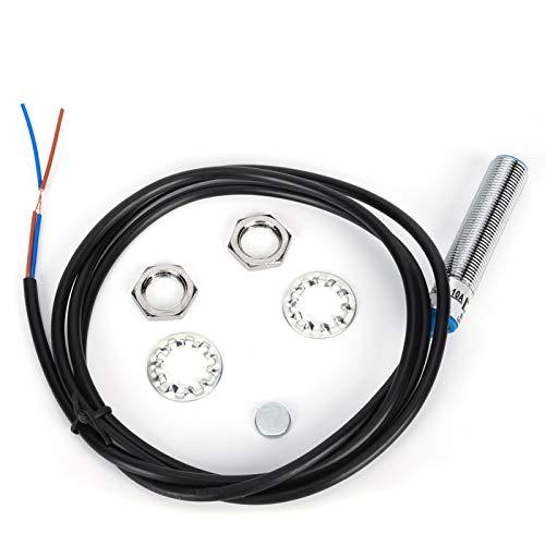 Sensor inductivo de metal magnético Carcasa larga 50-60 HZ Sensor de aproximación Interruptor de proximidad inductivo