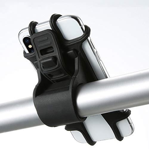 JWGD Soporte for teléfono móvil de Silicona de Bicicletas Tire Soporte for Botones Anti-Choque de teléfono Soporte de Montaje Tenedor for Bicicletas Soporte for teléfono Teléfono