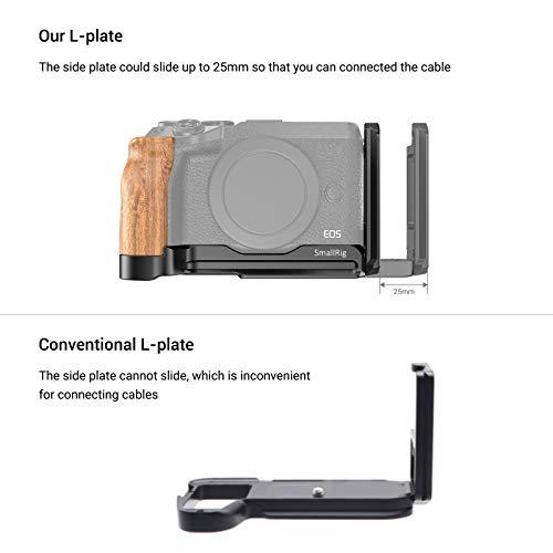 SMALLRIG L-Bracket L Platte L Winkel für Canon EOS M6 Mark II - LCC2516