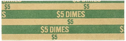 Sparco Flat Dime Coin Wrappers