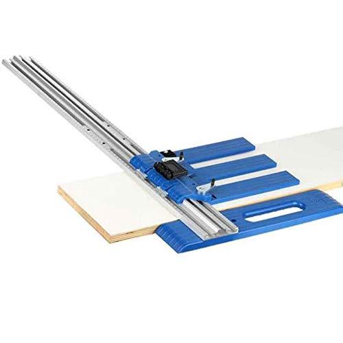 SHENAISHIREN Corte mecánico eléctrico circular vio fijo carril de guía deslizante soporte de corte fijo deslizante carpintería hidroeléctrica