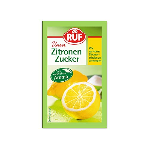 RUF Zitronen-Zucker wie geriebene Zitronen-Schale zu verwenden, 30 g
