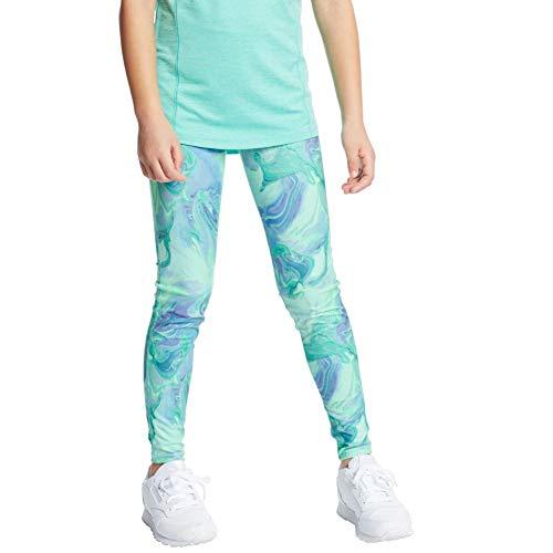 C9 Champion Girls' Leggings, Multi Marble Green, S