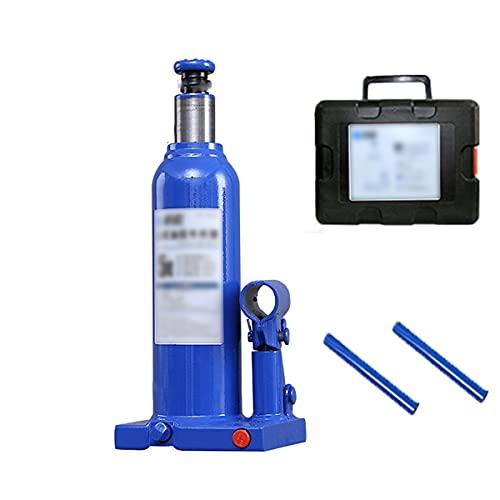 Gato hidráulico de botella de 5 toneladas, del soporte de elevación Gato vertical de metal para botella, gato para automóvil para el de automóvil compacto de chasis bajo en la carretera o en el garaje