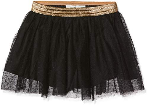 Name It Nkftullu Tulle Skirt Noos Jupe, Noir (Black Black), 50L (Taille Fabricant: 98) Bébé Fille