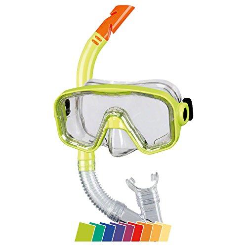 Beco Unisex Jugend Masken/Schnorchel-99006 Tauchset, gelb, One Size
