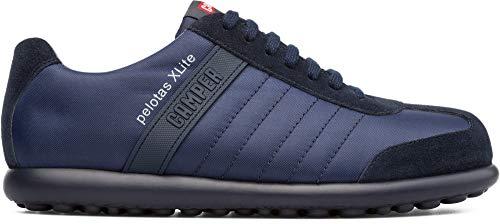 Camper Pelotas XL, Zapatos de cordones Oxford para Hombre, Azul (Marino), 42 EU