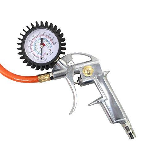 WEIMALL タイヤゲージ エアーゲージ アナログ 空気圧 測定 空気入れ エア抜き