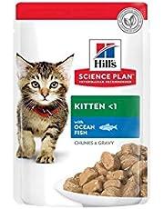 Hill's Chunks in Gravy Kitten Balıklı Yavru Kedi Yaş Maması 85 gr