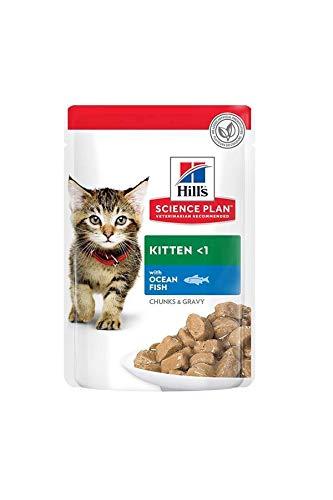 Hill's Feline Kitten Ocean Fish Comida para Gatos - 85 gr