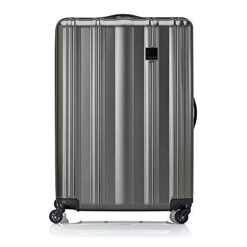 Tripp Pewter Retro II Large 4 Wheel Suitcase