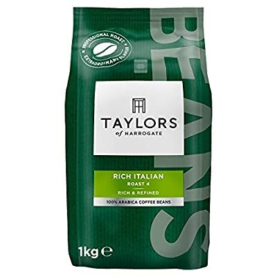 Taylors of Harrogate Rich Italian Coffee Beans, 1kg (Pack of 2)