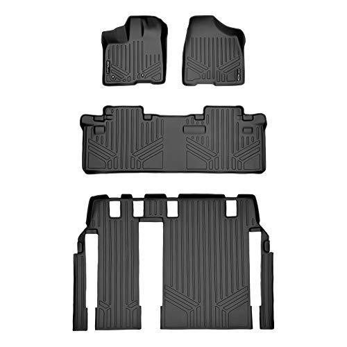 MAXLINER Custom Fit Floor Mats 3 Row Liner Set...