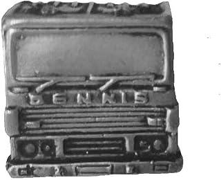 Fire Engine circa 1990 (anteriore) ref62a effetto peltro spilla