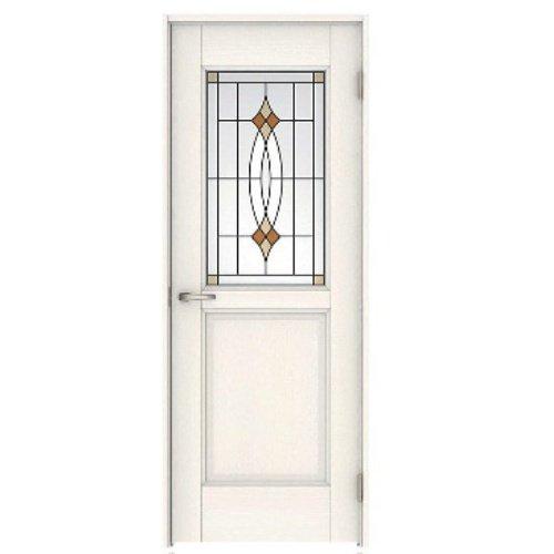 ダイケン ハピアベイシス 片開きドア(鍵なし) 55デザイン 見切枠 扉と枠セットの組合せ 扉ZAA55-13 色WH(ネオホワイト)-(R)CN7/枠ZRAB-13色WH(R)N