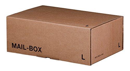 Mailing Box L (395x248x141mm) braun 20 Stück