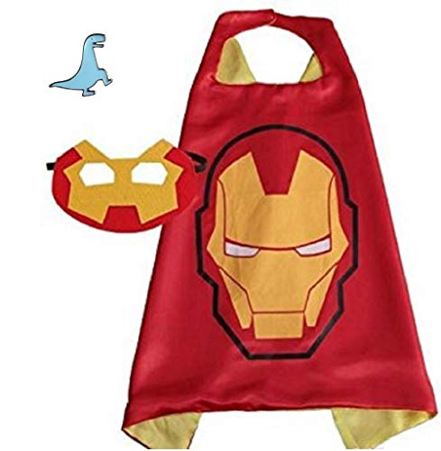 Superhero Cape and Mask Halloween Costume Set for Boys and...