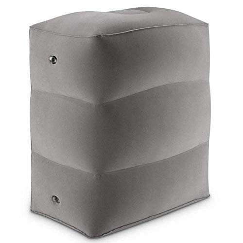 JONJUMP Inflable portátil viaje pie resto almohadilla almohada debajo del tobillo cadera rodilla almohada pierna apoyo escritorio coche articulaciones almohadas avión