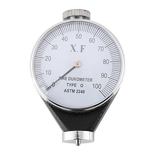Gummihärteprüfer, Shore Typ A/O/D Gummireifen Durometer Härteprüfer Messgerät 0-100 HA(O)
