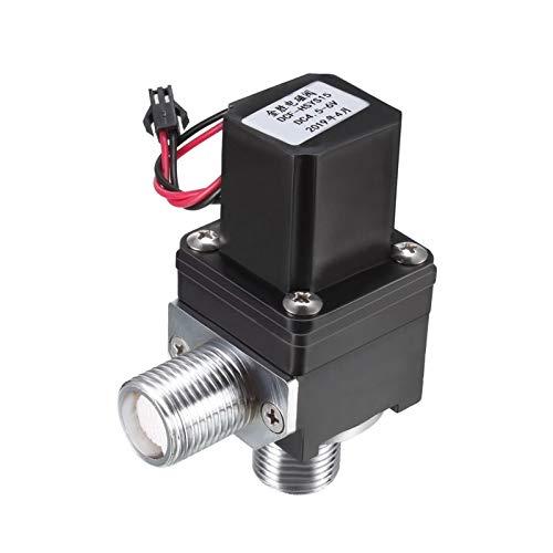 caja de batería marina Sensores infrarrojos de agua de la válvula solenoide G1 / 2' DC4.5V-6V normalmente cerrado rosca hembra válvulas con filtro (Specification : G0.5x23mm)
