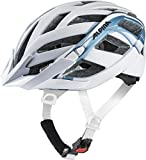 Alpina PANOMA 2.0 LE Casco de Ciclismo, Unisex-Adult, White-Blue Metallic, 52-57