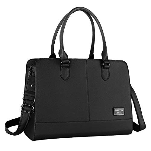 MOSISO Women Laptop Tote Bag (Up to 15.6 inch) 3 Layer...