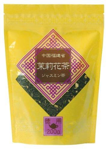 日本緑茶セ 徳用中国茶 茉莉花茶 200g