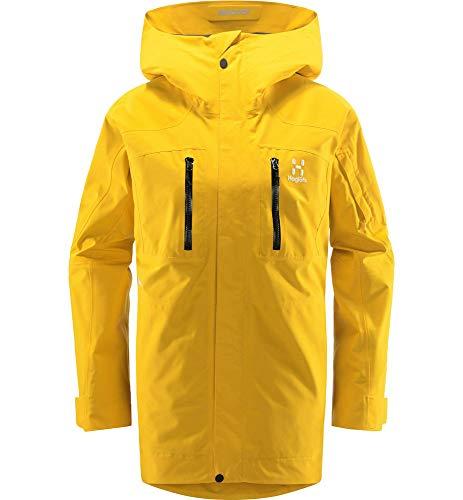 Haglöfs Skijacke Frauen Skijacke Elation GTX Jacket Wasserdicht, Winddicht, Atmungsaktiv Pumpkin Yellow L L