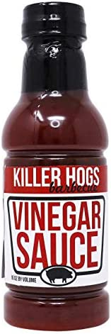 Killer Hogs Vinegar Sauce Championship Grill and BBQ Sauce for Beef Steak Burgers Pork and Chicken product image