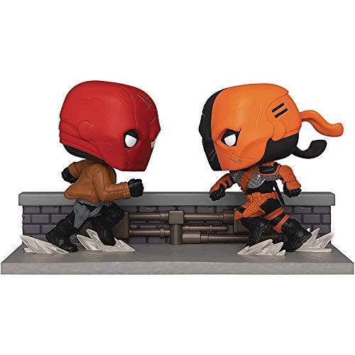 WWXX POP Heroes - Red Hood vs. Deathstroke Figure PX #336 Derivatives,Multicolor