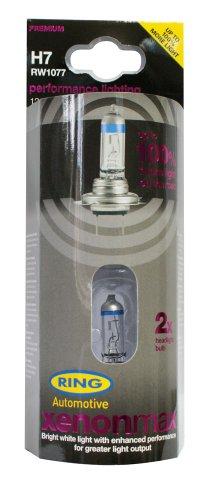 RING RW1077 2 Ampoules H7 12V Xenon Max + 100%