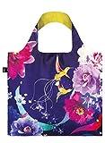 LOQI Artist Shinpei Naito Hummingbirds Bag Strandtasche, 50 cm, 20 liters, Mehrfarbig...