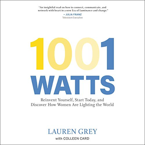 1001 Watts audiobook cover art