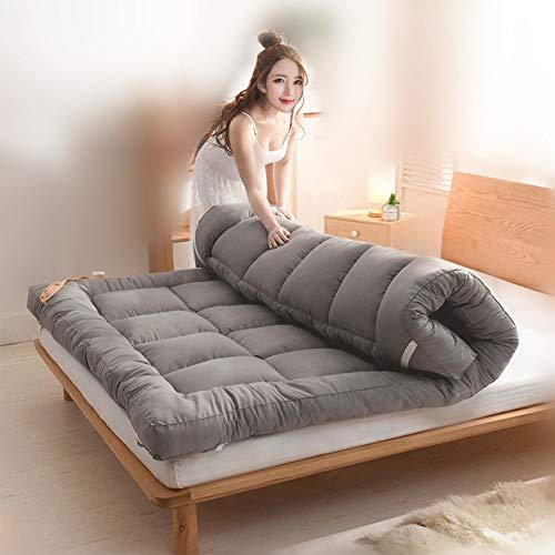 Love House Estera Plegable, Estera el Dormir portátil, Estera Lavable Japonesa Tradicional del futón Alfombra del Piso Esteras del Tatami