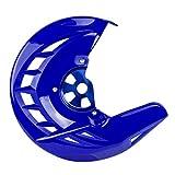 Gzcfesbn Cubierta de protección del Disco del Freno Delantero de Las Motocicletas for Yamaha YZ250X YZ250F YZ450F WR250F WR450F2006-2019 Durable (Color : Blue)