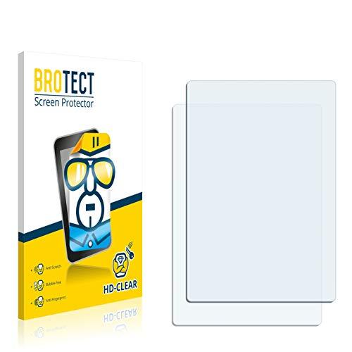 BROTECT Schutzfolie kompatibel mit Apple iPod Nano 2009 (5. Generation) (2 Stück) klare Bildschirmschutz-Folie