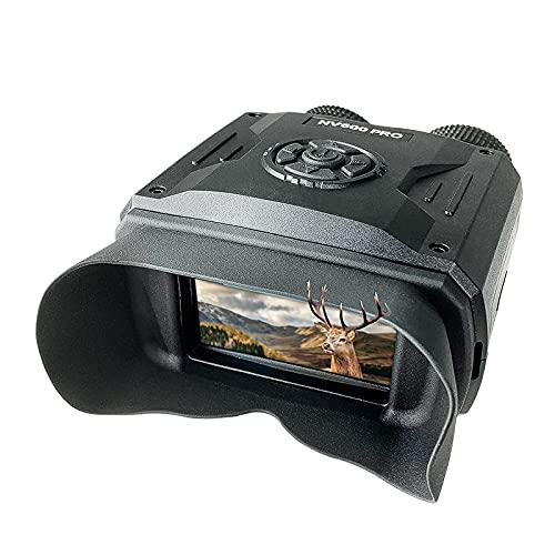 BekinTek Prismáticos de visión nocturna, telescopio, gafas infrarrojas infrarrojas, dispositivo de caza, 500 m, distancia de...