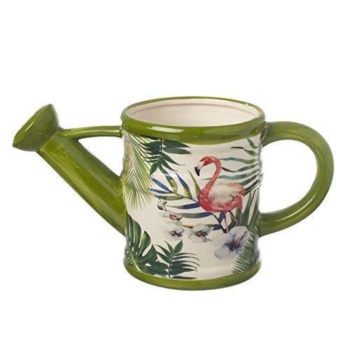 Unbekannt 'hafter Pot Pot de fleurs magique Flamingo en forme d'arrosoir