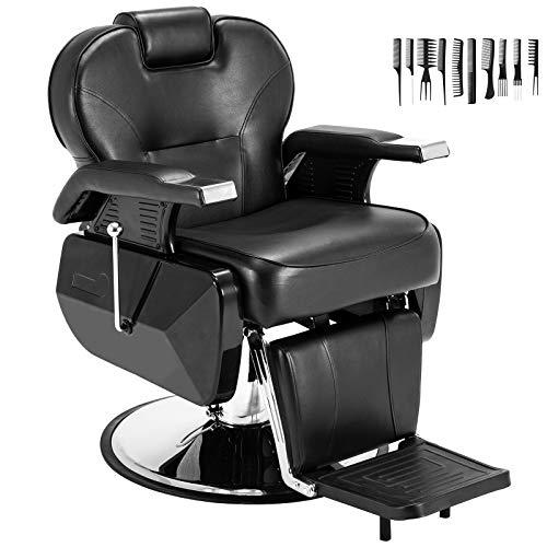 Barber Chairs Heavy Duty All Purpose Salon Chair Hydraulic Recline Barber Chair Beauty Salon Equipment