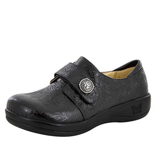 Alegria Joleen Womens Professional Shoe Tar Tooled 7 M US
