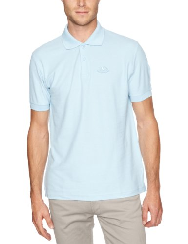 Fruit of the Loom - 13226B - T-Shirt - homme - Bleu (Yt Hellblau) - FR: X-Large (Taille fabricant: X-Large)