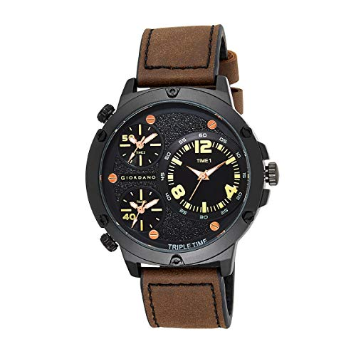 Giordano Analogue Black Dial Men's Watch