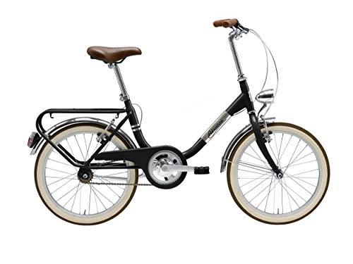 Cicli Adriatica Bicicletta Funny 20 Pollici Freni V sul Manubrio Nero