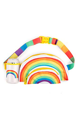 Pride Rainbow Shaped Fanny Pack - Rainbow Hip Pack
