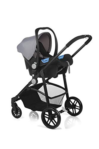 color negro-antracita portabeb/é grupo 0+ Nurse by Jan/é Roller Convert Silla de paseo convertible