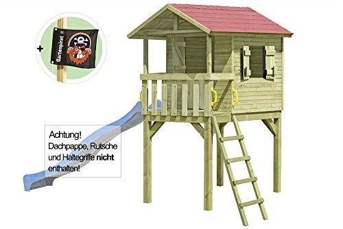 Gartenpirat Stelzenhaus Baumhaus Spielhaus Justin aus Holz