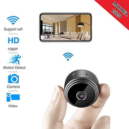 Spy Camera WiFi Wireless Hidden Camera Premium Pack HD 1080P Motion Detection USB Hidden Camera Surveillance Camera Mini spy Camera Nanny Camera