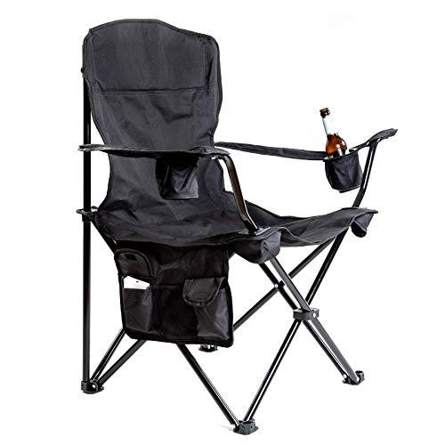 OUTCHAIR Rump Warmer Camping Klapp Stuhl Beheizbar Akku Angel Falt Sessel 130 kg